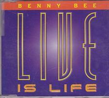 Benny Bee-Live Is Life cd maxi single