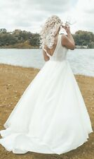 Puro Blanco Vestido para Boda Talla 10 - 12