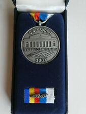 Medaille + Bandspange zum G8 - Gipfel in Heiligendamm 2007 in Schachtel
