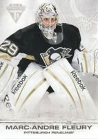 2011-12 Panini Titanium Hockey #9 Marc-Andre Fleury Pittsburgh Penguins