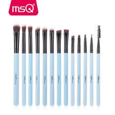 13pc Eye Makeup Brush Set Professional Eyeliner Blending Crease Pencil Lip Brush