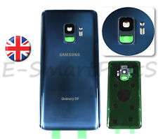 Back Glass Housing Cover Battery Door Replacement For Samsung Galaxy S9 BLUE