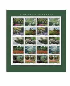 US #5461-70 American Gardens - Forever Stamp - 5470a Mint Sheet - FoXRiVeR