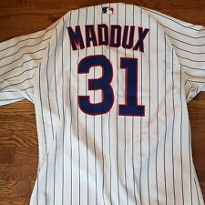 Greg Maddux Vintage Home  Pinstripe rare Chicago Cubs  Game team Issued Jersey?