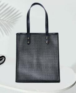 Mesh See through Large Handbag Toiletry Cosmetic Beach Travel Carry Shopping Bag