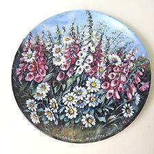 Schirnding Wandteller Sammelteller Blumen unserer Gärten (1)
