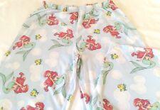 Pajama pants capri womens size 8-10 new polyester cotton Disney Little Mermaid