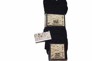 6 Pack Multipack Mens Thin Soft 100% Cotton Rich  Dress Socks