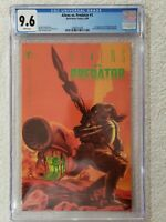 1990 ALIENS VS PREDATOR #1 WHITE PAGES 1ST PRINT 1990 DARK HORSE CGC 9.6 NM+