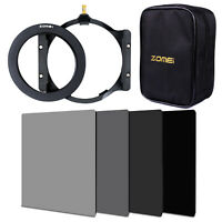 Zomei Full ND2+4+8+16 Square filter+Adapter Ring+Multifunctional Holder Cokin Z