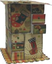 STAMPS AWAY - ADVENT CALENDAR KIT by Ali Reeve (create & craft)