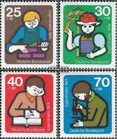 BRD (BR.Deutschland) 800-803 (kompl.Ausgabe) postfrisch 1974 Jugend: Jugendarbei