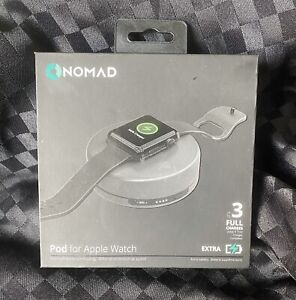 Nomad Pod portable battery pack for Apple Watch - Space Grey