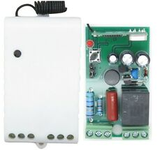 AC 220V 10A 433MHz 1 CH Channel Wireless RF Relay Remote Control Switch Receiver