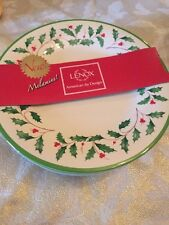 $50 Lenox Holiday Melamine Accents Plates Set Of 4 Plastic