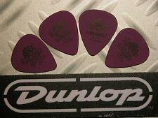 USA médiators Tortex® Jim Dunlop  Lot 4 Médiators Tortex Standard 1,14 mm Violet