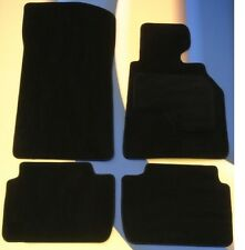 BMW 7 SERIES E38  1994 - 2001  BLACK QUALITY CAR MATS set of 4 + 4 x PADS B