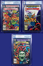 CONTEST OF CHAMPIONS #1-3 (1982) PGX 9.2 NM- Near Mint- FIRST LTD SERIES +CGC!!!