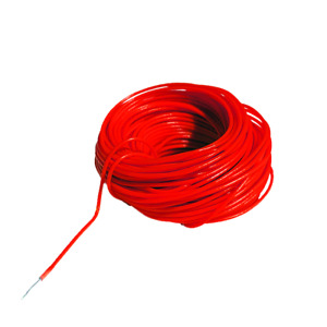 Digikeijs DCC Decoder Wire ~ 30 AWG ~ .25mm/.45mm ~ Red ~ 10 Meters DR60366