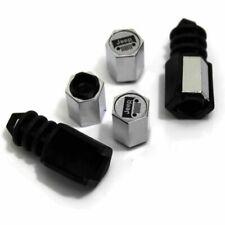 Elite Automotive Chrome ABS Tire Valve Caps for Jeep Grill - 603-0318