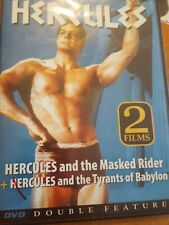 Double Feature DVD THE MOVIE SET Hercules and Masked Rider+Tyrants of BabyLON