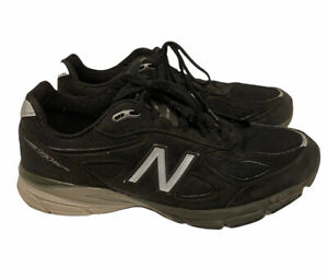 New Balance 990 V4 Made in USA Black Running Shoes Men's Size 11.5