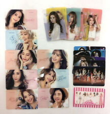 GIRLS' GENERATION (SNSD) Transparent Photo Card 25 pcs SET 2017 New