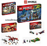 Lego Ninjago Sets - Firstbourne/City of Stix/Tiger Widow Island & MORE - New