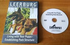 Leerburg: Living With Your Puppy - Establishing Pack Structure DVD dog training