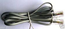 Câble cordon téléphonie RJ45 RJ45 gris 1m80