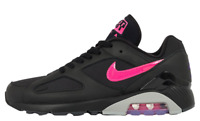 Authentic Exclusive New Nike Air Max 180 ® ( Men Size 7-12 ) Black/Pink Blast 🔥
