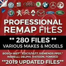 280 Remapped Files ECU Tuning VW Audi Skoda Seat BMW Jaguar (ORIGINAL SELLER)