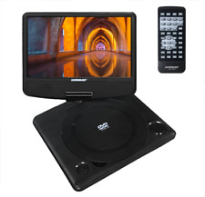 "9"" Travel Portable Car DVD Player USB LCD Swivel Headrest Monitor Remote Control"