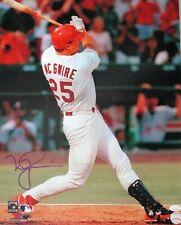 Cardinals MARK McGWIRE Signed 16x20 photo #1 AUTO - 2 x WS Champ -  JSA