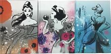 New Disney Classic Princess Journal Diary Notebook Belle Snow White Cinderella
