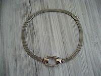 Pierre Lang Kette Collier Magnetcollier RH silber - Länge 41  cm
