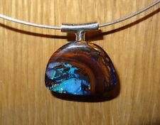 +++ Herrlicher Yowah Nuss Opal an Designer Sterling Silber Stiftöse - von myOpal