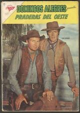 D Alegres #446 Comic Praderas Oeste Spanish Mexican Novaro 1962