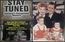 Stay Tuned Book & DVD, 2 CDs Signed Lucie Arnaz + Lucy Family Photo, Lucille COA