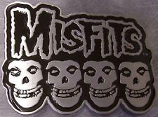 Pewter Belt Buckle Music Misfits NEW
