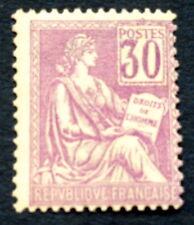 France N° 115 30c violet neuf **TB qualité cote315€