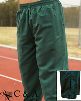 Kids Boys Girls Tracksuit Pants Trousers with Poly Cotton Lining & Ankle Zipper