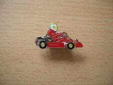 Pin Anstecker Kart Cart Rennkart Renncart in rot red  Art. 0653 Spilla Oznak