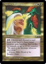 Nature's Blessing X4 EX/NM Alliances MTG Magic Cards Gold Enchantment Pump