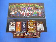Bally Gaming Inc. 99 Bottles of Beer Slot Machine Glass Set