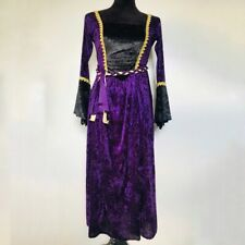 Halloween Costume Women Small Renaissance Witch Victorian Princess Purple Velvet