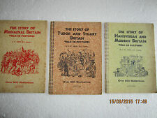 VINTAGE JOURNALS-THE STORY OF BRITAIN IN PICTURES-C W AIRNE-1930s