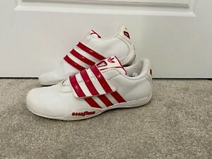 Adidas Originals Goodyear Race Strap Women's Girls Trainers Red White UK 4