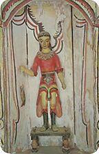 """Chimayo, NM - El Santuario de Chimayo - """"San Rafael"""" - """"Bulto"""" Carving"""