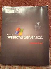Microsoft Windows Terminal Server Services 2003 5 user CAL Standard Enterprise
